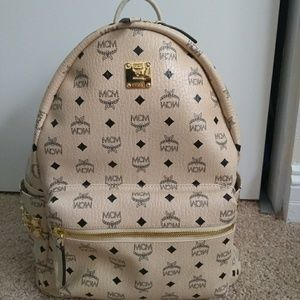 Mcm authentic backpack